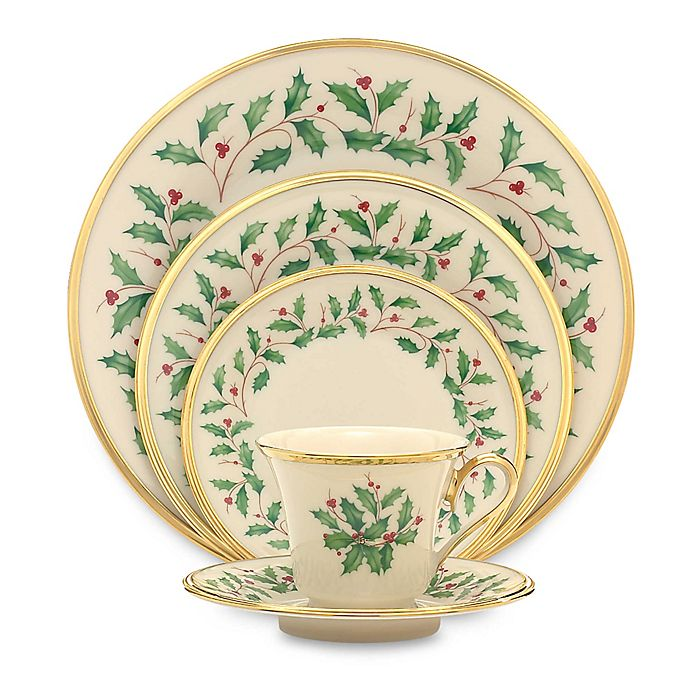 Alternate image 1 for Lenox® Holiday™ 5-Piece Place Setting