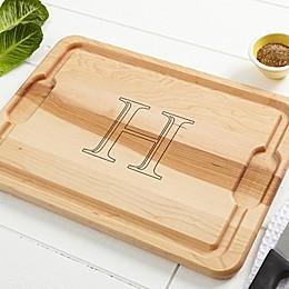 Chef's Monogram Maple Cutting Board