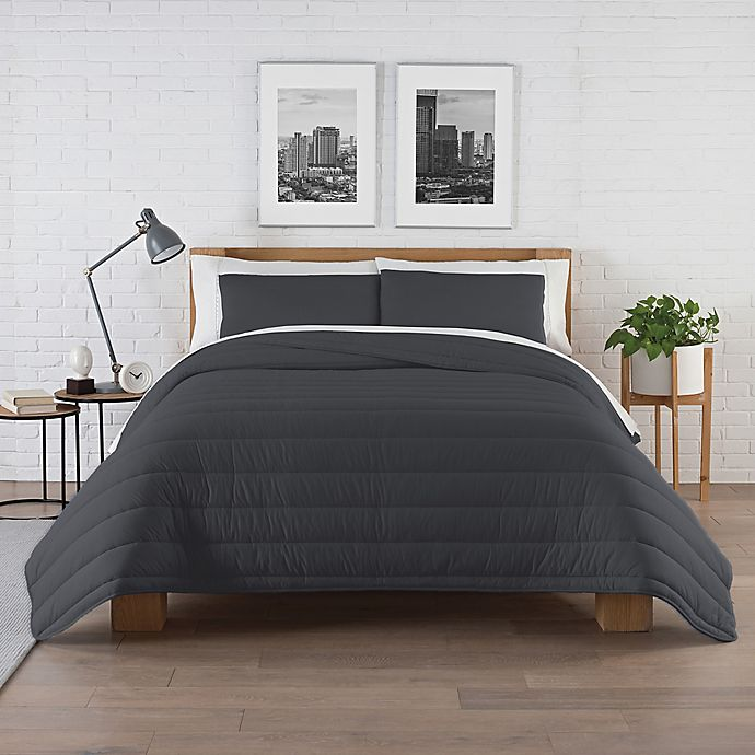 Alternate image 1 for Pure Beech® Jersey Knit Modal 3-Piece King Comforter Set in Charcoal Grey