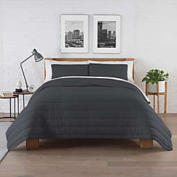 Pure Beech® Jersey Knit Modal 3-Piece Full/Queen Comforter Set in Charcoal Grey