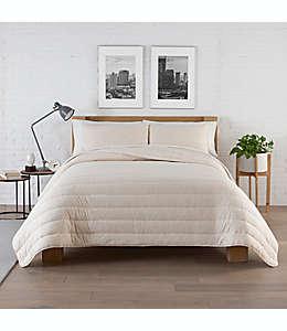 Set de edredón king de tela modal Pure Beech® color avena brezo