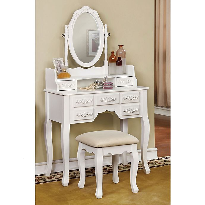 Valeria Vanity Set Bed Bath Beyond