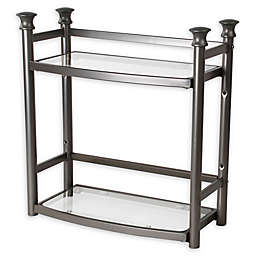 .ORG 2-Shelf Tower in Satin Nickel