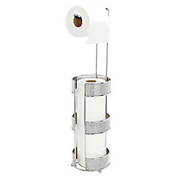 Bath Bliss Toilet Paper Holder with Reserve in Chrome