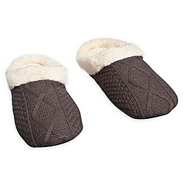 Loft Living Memory Foam Sweater Knit Slipper