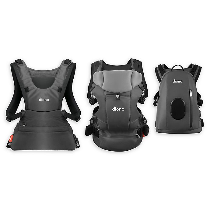 Alternate image 1 for Diono® Carus Complete 4-in-1 Baby Carrier with Detachable Backpack
