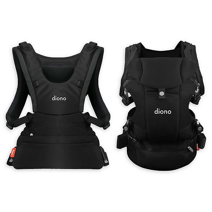 Alternate image 1 for Diono™ Carus Essentials 3-in-1 Baby Carrier in Black