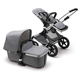 Bugaboo Fox Classic Complete Stroller in Aluminum/Grey Melange