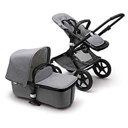 Bugaboo Fox Classic Complete Stroller in Black/Grey Melange