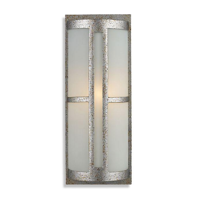 Alternate image 1 for ELK Lighting Trevot 1-Light Outdoor Sconce in Sunset Silver