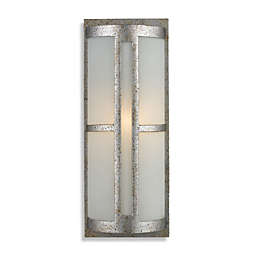 ELK Lighting Trevot 1-Light Outdoor Sconce in Sunset Silver