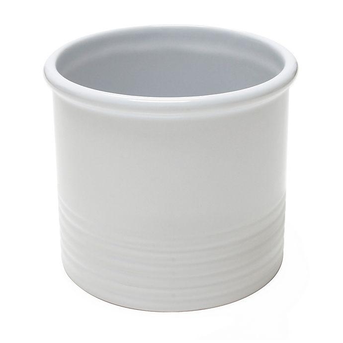 Alternate image 1 for Chantal® Large Utensil Crock in White