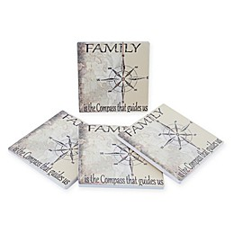 Thirstystone® Dolomite Family Is Square Coasters (Set of 4)