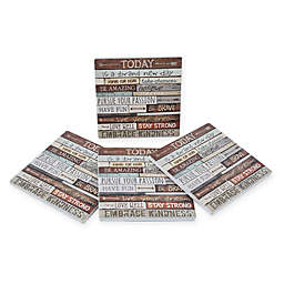 Thirstystone® Dolomite Brand New Day Square Coasters (Set of 4)