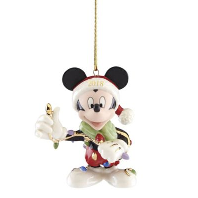 Lenox 174 2018 Disney 174 Merry Amp Bright Mickey Christmas