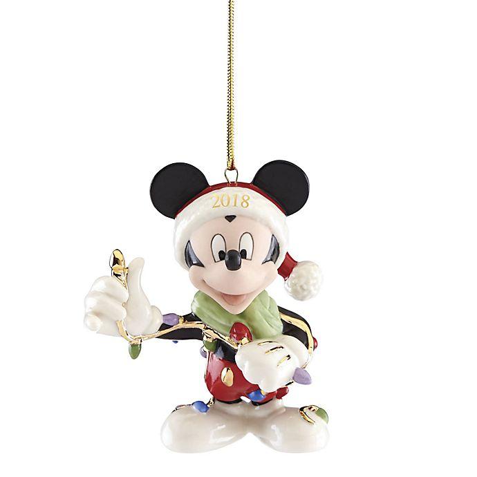 Lenox Christmas Ornaments.Lenox 2018 Disney Merry Bright Mickey Christmas Ornament
