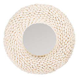 Safavieh 20-Inch Round Magnolia Wall Mirror