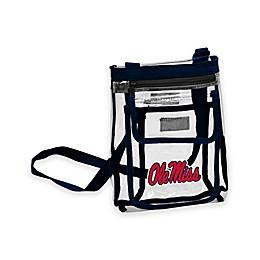 University of Mississippi Gameday Clear Crossbody Bag