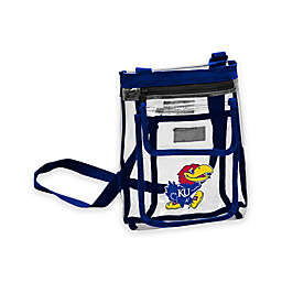 University of Kansas Gameday Clear Crossbody Bag