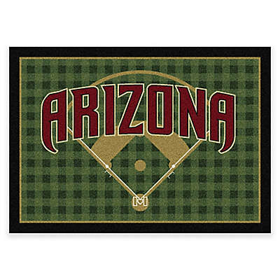 MLB Arizona Diamondbacks Team Field Area Rug