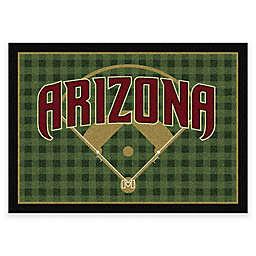 MLB Arizona Diamondbacks Team Field Area Rug