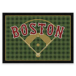 MLB Team Field Boston Red Sox Area Rug