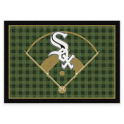 MLB Team Field Chicago White Sox Area Rug