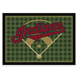 MLB Team Field Cleveland Indians Area Rug