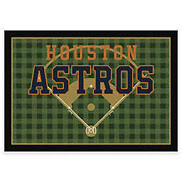 MLB Team Field Houston Astros Area Rug