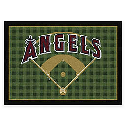 MLB Team Field Los Angeles Angels Area Rug