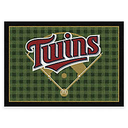 MLB Team Field Minnesota Twins Area Rug