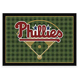 MLB Team Field Philadelphia Phillies Area Rug