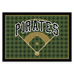 MLB Team Field Pittsburgh Pirates Area Rug