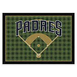 MLB Team Field San Diego Padres Area Rug