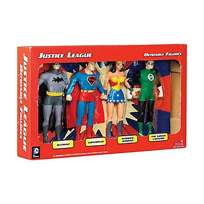 Toysmith Justice League Bendable Figures Boxed Set