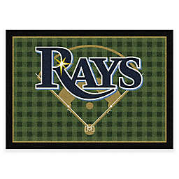MLB Team Field Tampa Bay Rays Area Rug