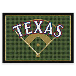 MLB Team Field Texas Rangers Area Rug