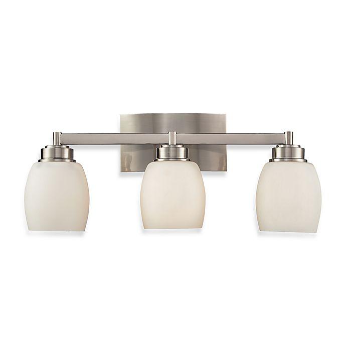 Alternate image 1 for ELK Lighting Northport 3-Light Vanity in Satin Nickel