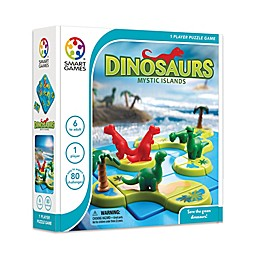SmartGames Dinosaurs - Mystic Islands Brain Teaser Puzzle