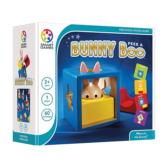 Alternate image 1 for SmartGames Bunny Peek A Boo Brain Teaser Puzzle