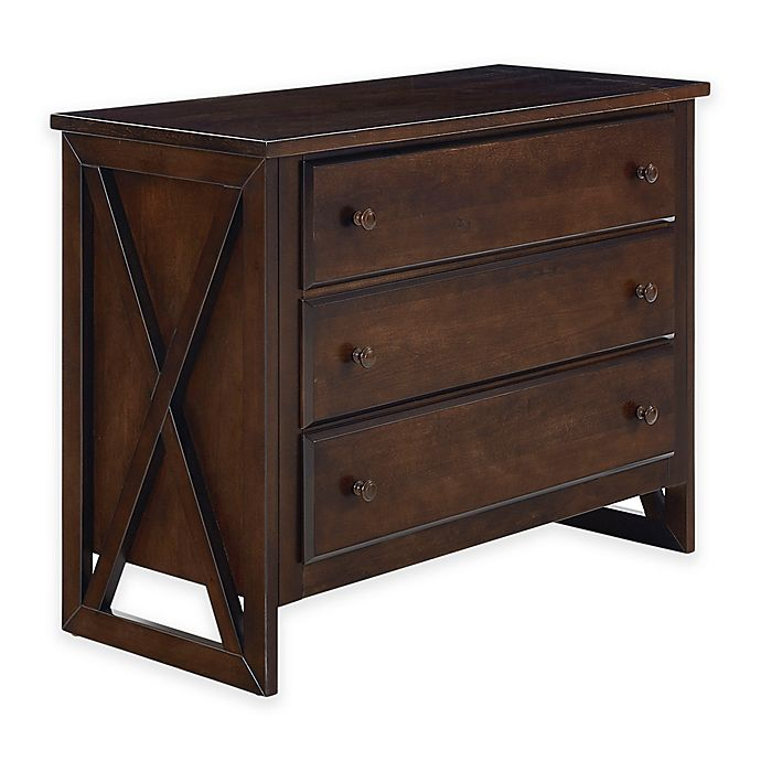 Alternate image 1 for BassettBaby® Premier Tate 3-Drawer Dresser