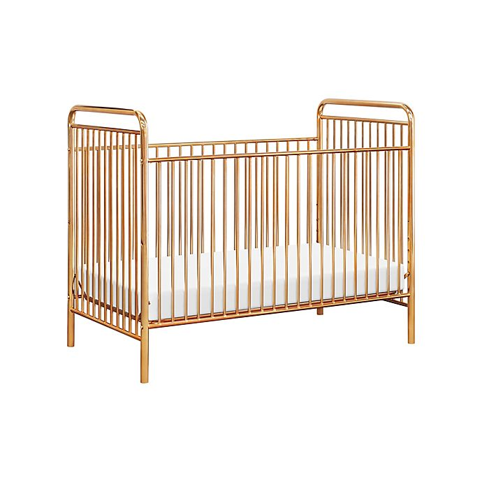 Alternate image 1 for Babyletto Jubilee 3-in-1 Convertible Crib in Gold
