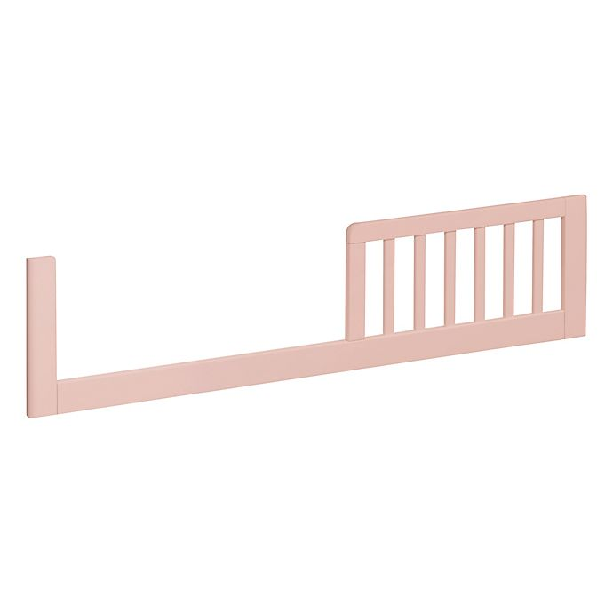 Alternate image 1 for Carter's by Davinci Colby Toddler Bed Conversion Kit in Petal Pink
