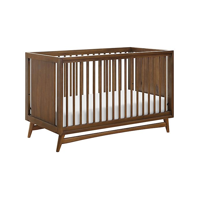 Alternate image 1 for Babyletto Peggy 3-in-1 Convertible Crib in Natural/Walnut