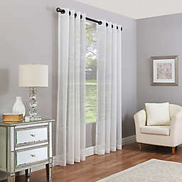 Madeira Grommet Sheer Window Curtain Panel