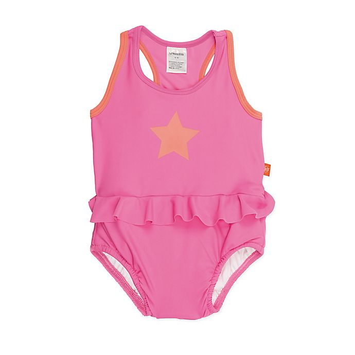 Alternate image 1 for Lassig Size 6M Swim Tanksuit in Pink