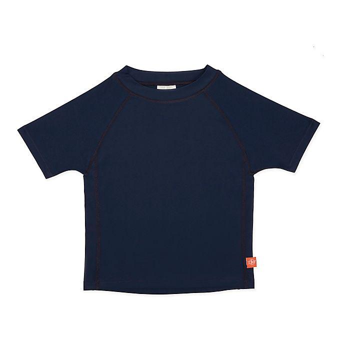 Alternate image 1 for Lassig Size 3T Short Sleeve Rashguard in Black