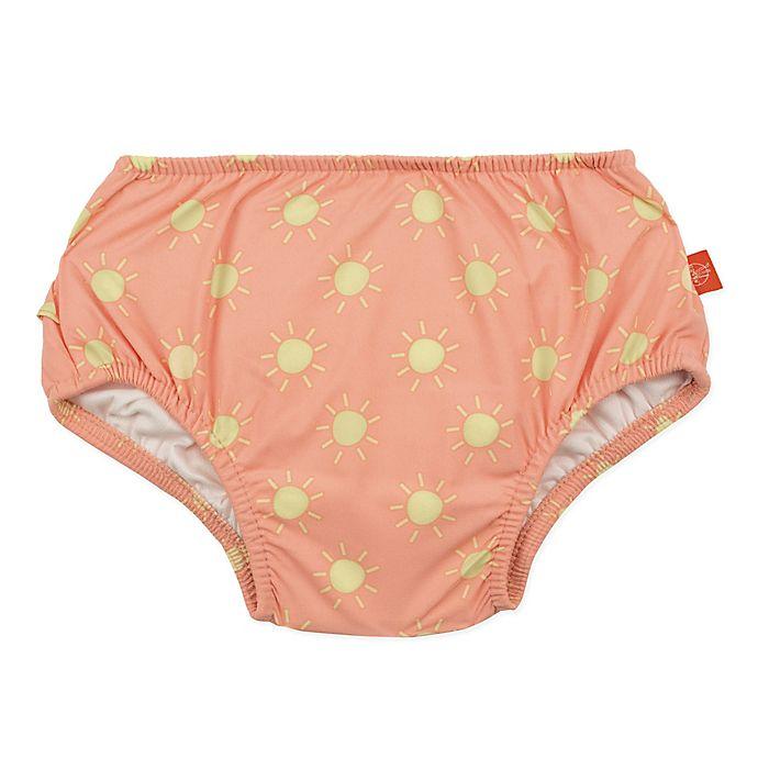 Alternate image 1 for Lassig Size 6M Sun Swim Diaper in Orange