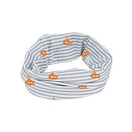 Lassig Coolmax® Small Stripes Twister Sun Scarf in Grey