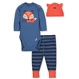 Gerber® 3-Piece Fox Playette Set in Blue/Orange